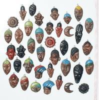 Mascaras de morenos