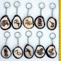 Llaveros de tagua